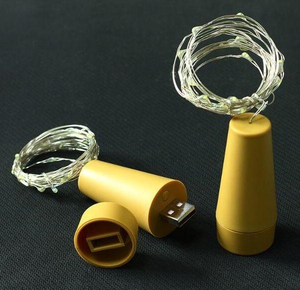 Synergy 21 LED Dekoline Wein Flaschen Beleuchtung USB