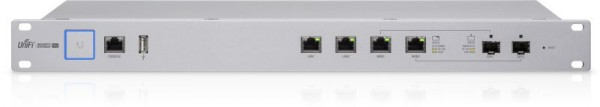 "Ubiquiti UniFi Security Gateway PRO 4-Port / Firewall / VLAN / VPN / QoS / 19"" / 2x SFP / USG-Pro-4"