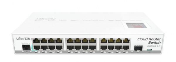 MikroTik Cloud Router Switch CRS125-24G-1S-IN, 24x Gigabit, 1x SFP