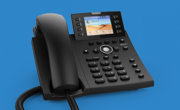 Snom D335 VOIP Telefon (SIP) o. Netzteil