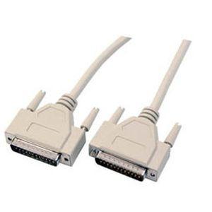 Kabel seriell DB25pol=>DB25pol St/St, 10m,