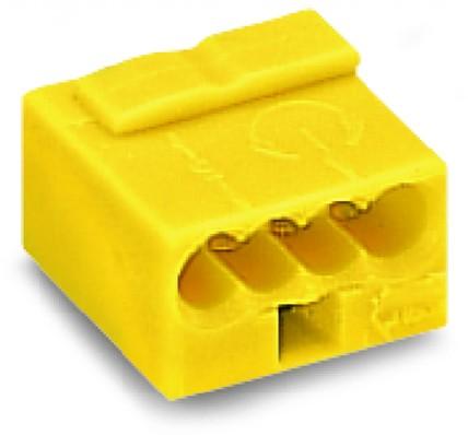 Wago Serie 243- 4-Leiter-Micro-Klemme (100 Stück) gelb