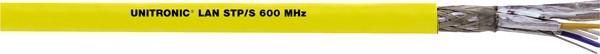 LAPP Kabel 1000MHz, CAT7, PIMF, Halo, 100m Ring, Gelb, Verlegekabel, Unitronic