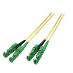 LWL-2-Faser-Patchk. 1.0mtr.E2000(APC8Grad),/E2000(APC8Grad), 9/125um