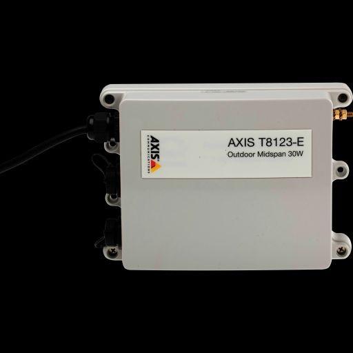 AXIS Zubehör High POE Midspan 1 Port T8123-E Outdoor