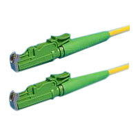 LWL-2-Faser-Patchk. 2mtr.E2000(APC8G)-E2000(APC8G), 9/125u