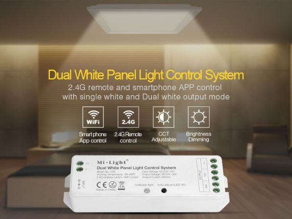 Synergy 21 LED Controller Dual White (CCT) für LED Panels 700mA *Milight/Miboxer*
