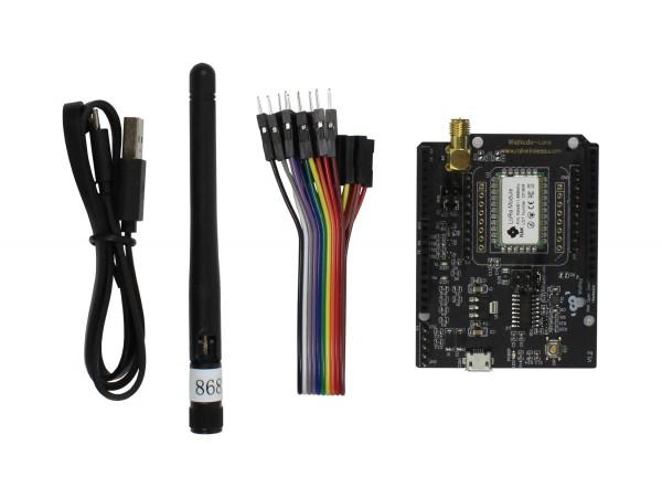 RAK Wireless WisNode Lora/LoRaWAN Module, Support AS923, 868/915MHz, LoRa/TTN, Open source LoRa, RAK811 development board, LoRa Arduino shield