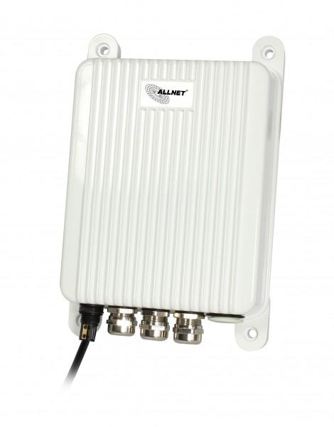 "ALLNET Switch unmanaged outdoor 3 Port Gigabit 100W / 3x PoE+ / 1x SFP / Lüfterlos / IP66 / ""ALL-SGO8103P"""