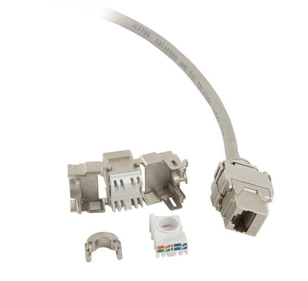 Keystone, Modul, TP-Buchse(RJ45), CAT6A, 500MHz, Synergy 21,