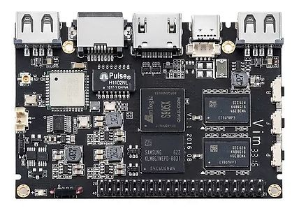 Khadas VIM1 Basic - Amlogic S905X 2.0 GHz 64Bit Quad Core ARM Cortex-A53, 2GB Ram, 8GB EMMC 5.0