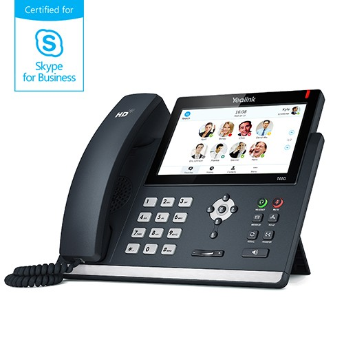 Yealink MSFT - Skype4Business T48S IP-Telefon High End Business PoE