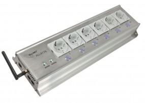 ALLNET ALL4176 / IP-Steckdosenleiste 6-fach, schaltbar per Netzwerk