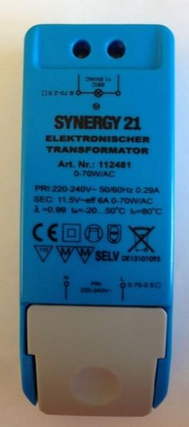 Synergy 21 Netzteil - 12V 70W AC dimmbar