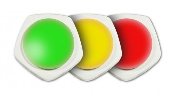 ALLNET PoE RGBW-Lampe mit 1x MSR Sensorport / LAN / WIFI