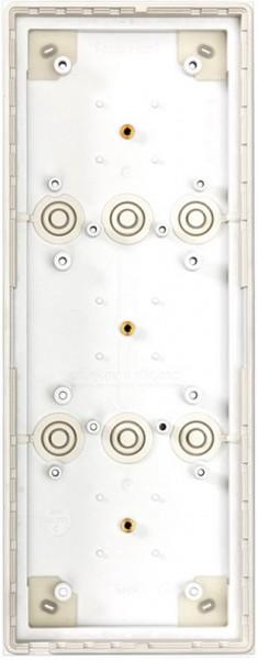 Mobotix 3er Aufputzgehäuse, schwarz STD