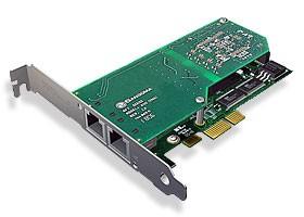 Sangoma 2xPRI/E1 PCIe Karte A102DE mit Echounterdrückung