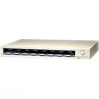 Aten KVM-Switch 8-fach VGA/Maus/Tastat., CS-128A,EB849A,