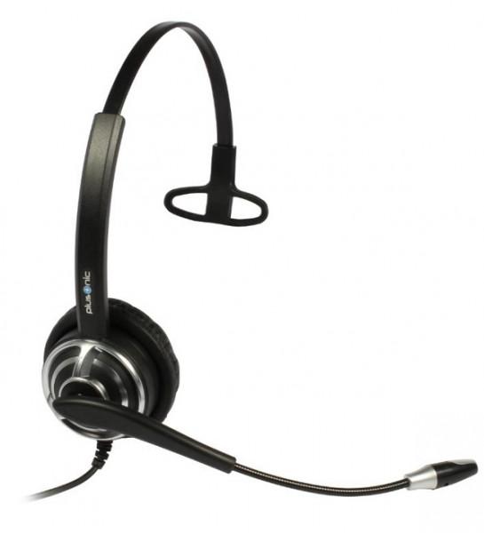 Plusonic Headset 8.1P, monaural, NC, Wideband