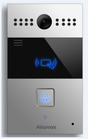 Akuvox TFE R26C IP Door SIP Intercom with one Button *FLUSH MOUNT*