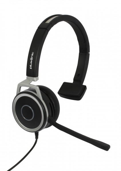 Plusonic Business Headset, 15.1P, monaural, USB & 3,5mm Klinke