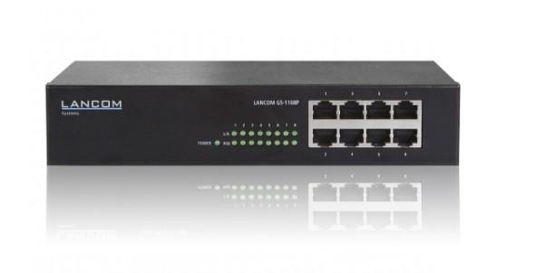 LANCOM Switch, 1000Mbit, 8xTP, POE, GS-1108P,