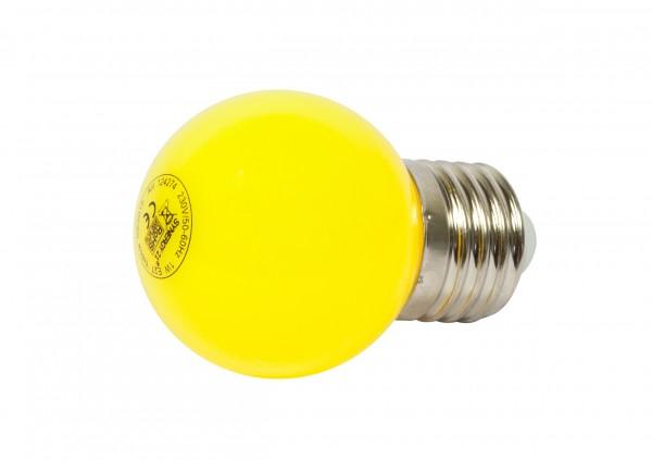 Synergy 21 LED Retrofit E27 Tropfenlampe G45 gelb 1 Watt für Lichterkette