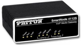 Patton SmartNode 4112 Dual FXS VoIP Gateway, Small