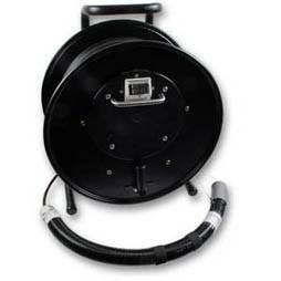LWL-Kabel-Trommel mit 2xLC-Duplex-Kupplung,* ohne Kabel *