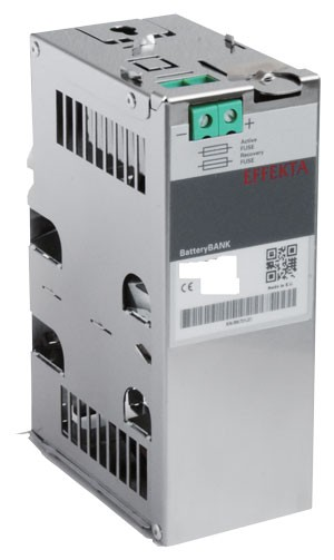 Effekta USV, AC/DC, 48V, zbh. Akkupack für HutSchienenmontage(DIN-Rail), DCB 48/1,2