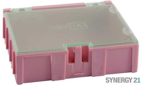 Synergy 21 Kleinteilemagazin, rosa 15 Stk.