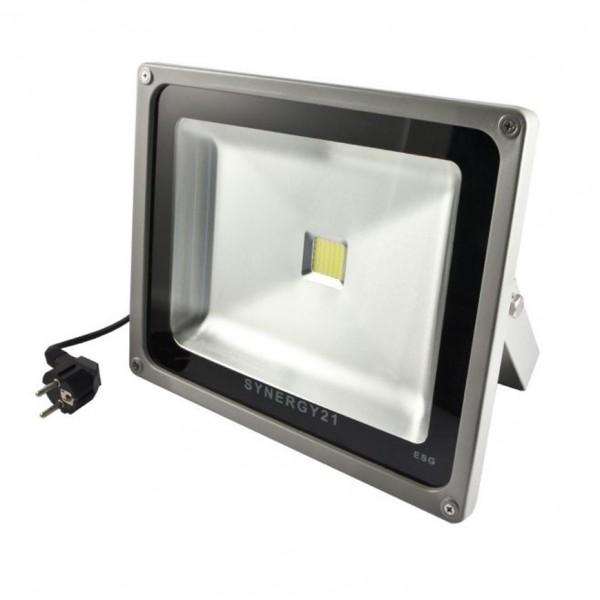 Synergy 21 LED Spot Outdoor Baustrahler 30W graues Gehäuse - neutralweiß V2