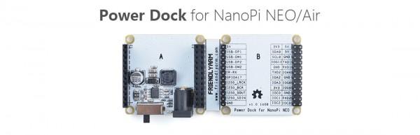FriendlyELEC NanoPi Neo zbh. Power Dock