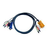 Aten Verbindungskabel SPDB, 5m,USB,Audio