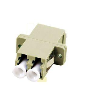 LWL-Kupplung, LC-Buchse/LC-Buchse, 50/125u Multimode, duplex, PVC, OM2,