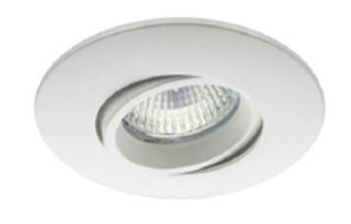 Synergy 21 LED Retrofit GU10 / GX5, 3 Deckeneinbausatz D04-weiß