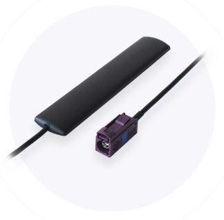 Teltonika RUT2xx/500/9xx zbh. antenna LTE 2dBi adhesive type with 2m cable