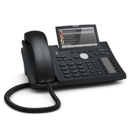 Snom D375 VOIP Telefon (SIP) o. Netzteil