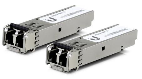 Ubiquiti U Fiber / SFP / Multi Mode Module / 1G / UF-MM-1G / 2er Pack