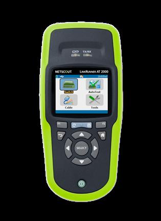 NetAlly LinkRunner AT 2000 Network Auto-Tester (fiber + s/w