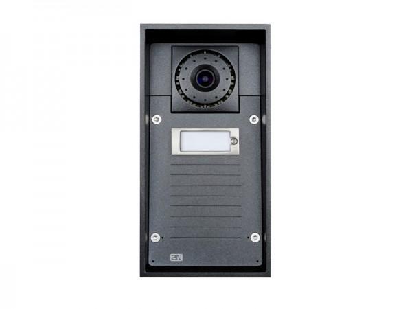 2N Gegensprechanlage EntryCom IP Force - 1 Ruftaste (IP69) mit Kamera & Keypad 10W