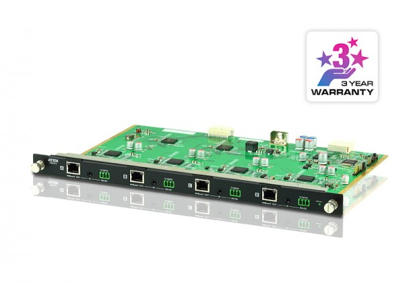 Aten Video Switch, Modulare Matrix Chassis, zbh. 4-Port HDBaseT Output Board