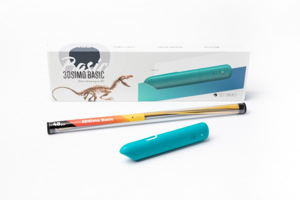 3Dsimo Basic Box Slim blue 3D Pen