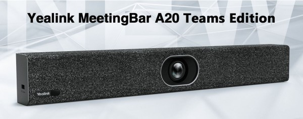 Yealink MSFT - A20 MeetingBar Teams Edition