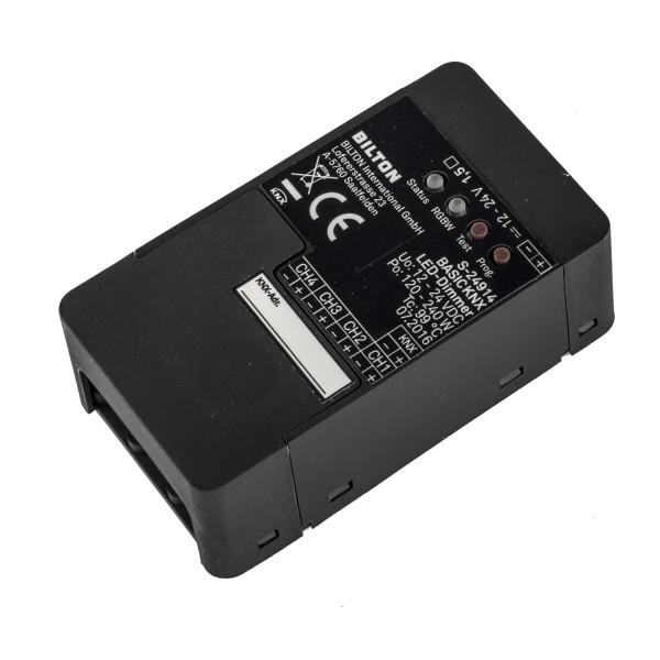 BILTON Controller BASIC KNX12-24VDC 240W IP20 4Kanal 2,5A/Kanal