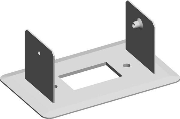 TEM Serie Modul Brüstungskanal FIXING PLATE MA SINGLE130x65 E