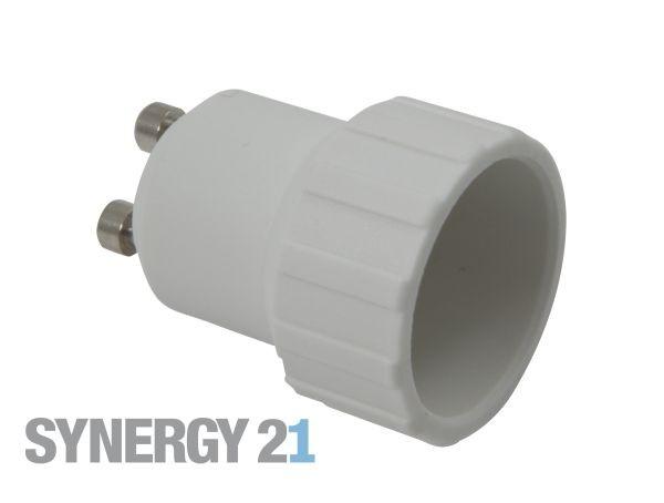 Synergy 21 LED Adapter für LED-Leuchtmittel GU10->E14