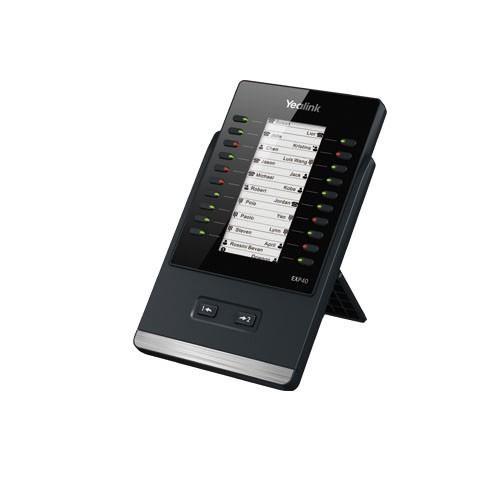 Yealink SIP zub. Extension EXP40 LCD Keypad mit 20 Tasten