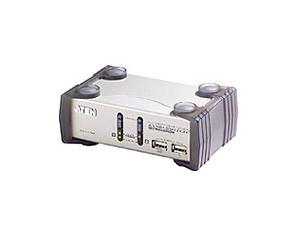 Aten KVM-Switch 2-fach, VGA/Audio/USB,