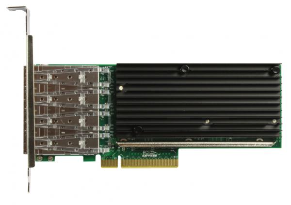 ALLNET ALL0141-4SFP+-10G / PCIe 10GB Quad SFP+ Fiber Card Server
